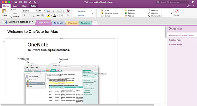 OneNote_for_Mac_2016_screenshot